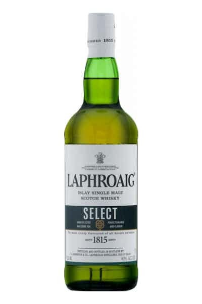 Laphroaig Islay Single Malt Scotch Whisky Select - Grapes & Hops Deli
