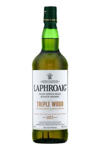 Laphroaig Islay Single Malt Triple Wood Whisky - Grapes & Hops Deli