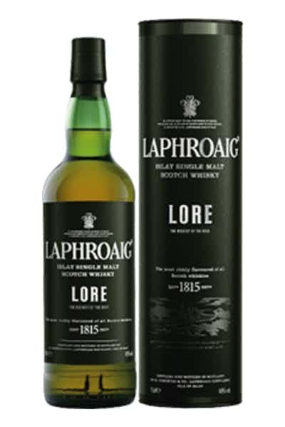 Laphroaig Islay Single Malt Scotch Whisky Lore - Grapes & Hops Deli