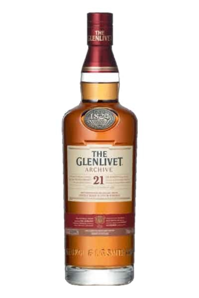 The Glenlivet 21 Year Old Scotch Whisky - Grapes & Hops Deli