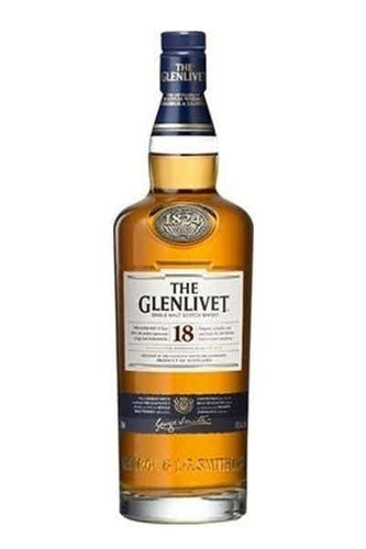 The Glenlivet 18 Year Single Malt Scotch Whiskey - Grapes & Hops Deli