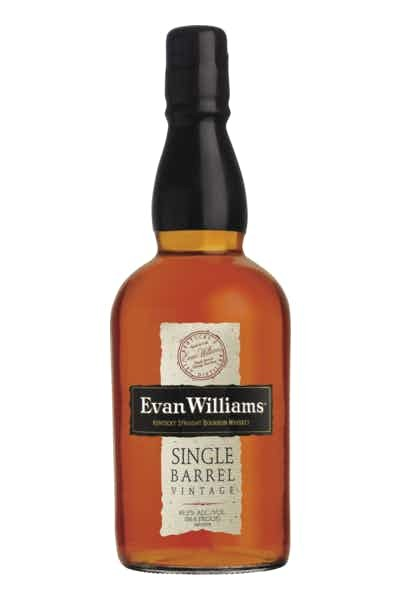 Evan Williams Kentucky Bourbon Whiskey Single Barrel Vintage - Grapes & Hops Deli