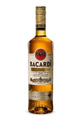 Bacardi Gold Rum - Grapes & Hops Deli