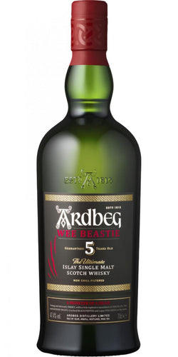 Ardbeg Wee Beastie 5 year Islay Single Malt Scotch Whisky - Grapes & Hops Deli
