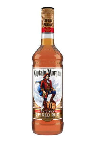 Captain Morgan Original Spiced Rum - Grapes & Hops Deli