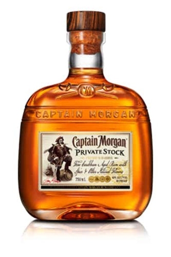 Captain Morgan Private Stock Rum - Grapes & Hops Deli