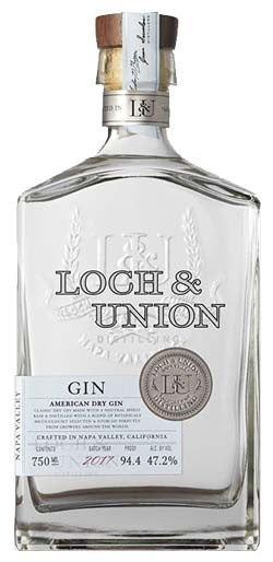 Loch and Union American Dry Gin - Grapes & Hops Deli