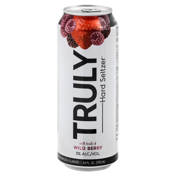 Truly Hard Seltzer Wild Cherry - Grapes & Hops Deli