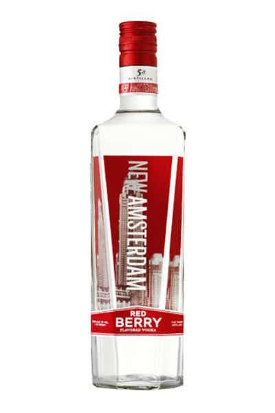 New Amsterdam Red Berry Vodka - Grapes & Hops Deli