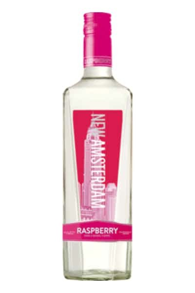 New Amsterdam Raspberry Vodka - Grapes & Hops Deli