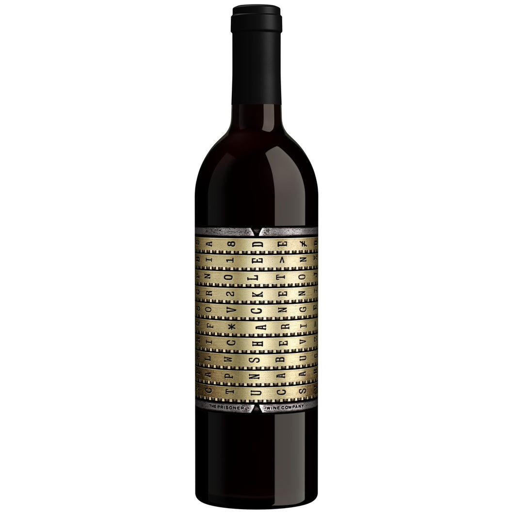 Unshackled by The Prisoner Cabernet Sauvignon 2018 - Grapes & Hops Deli