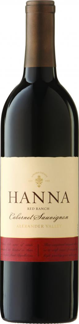 Hanna Red Ranch Cabernet Sauvignon Alexander Valley 2015 - Grapes & Hops Deli