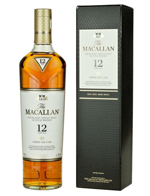 The Macallan Sherry Oak 12 Years Old - Grapes & Hops Deli