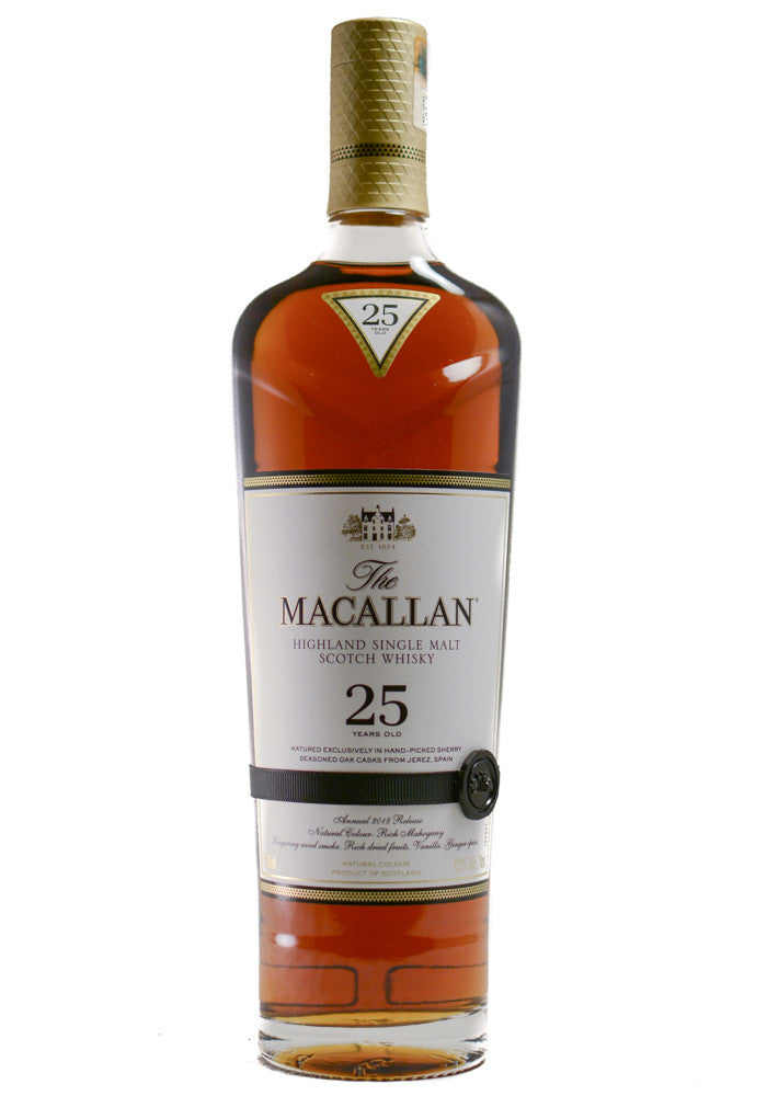 The Macallan Sherry Oak 25 Years Old - Grapes & Hops Deli