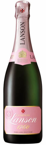Lanson Rose Label Brut Rose Champagne - Grapes & Hops Deli