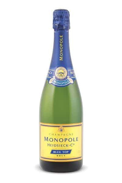 Heidsieck Monopole Blue Top Brut - Grapes & Hops Deli