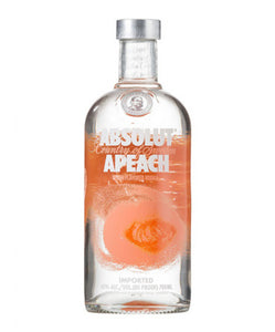 Absolut Apeach Vodka - Grapes & Hops Deli