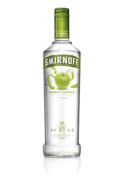 Smirnoff Green Apple Vodka - Grapes & Hops Deli