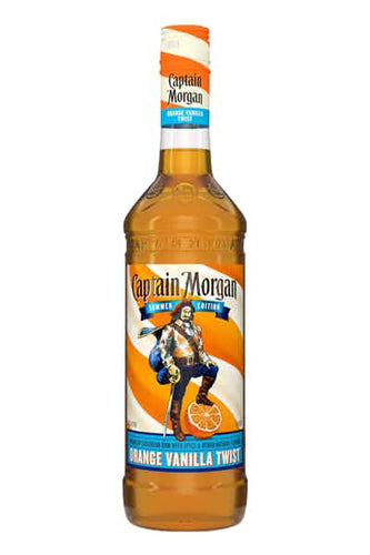 Captain Morgan Orange Vanilla Twist Summer Edition - Grapes & Hops Deli