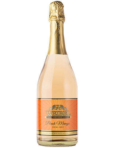 Weibel Family Winery Peach Mango Demi-Sec - Grapes & Hops Deli