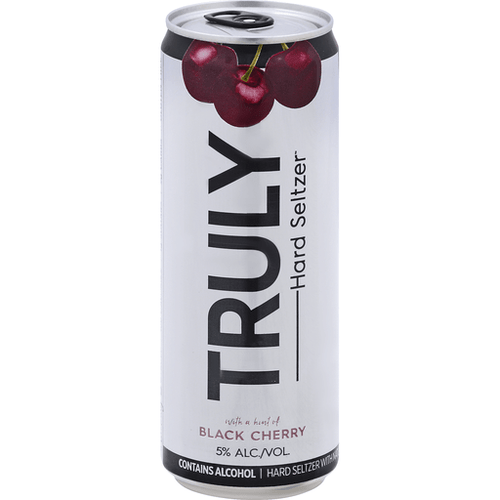 Truly Hard Seltzer Black Cherry - Grapes & Hops Deli