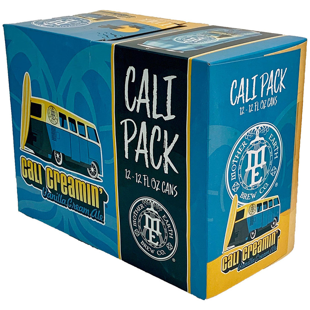 Mother Earth Brewing Cali Pack Vanilla Cream Ale - Grapes & Hops Deli