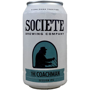 Societe Brewing Session IPA The Coachman - Grapes & Hops Deli