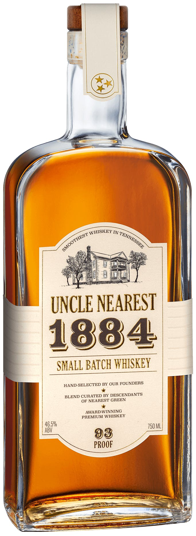 Uncle Nearest 1884 Small Batch Whiskey 93 Proof