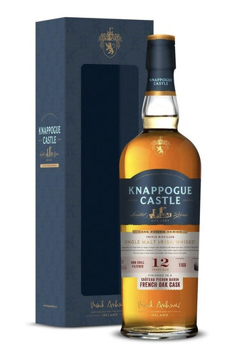 Knappogue Castle 12 Years Old Single Malt Irish Whiskey - Grapes & Hops Deli