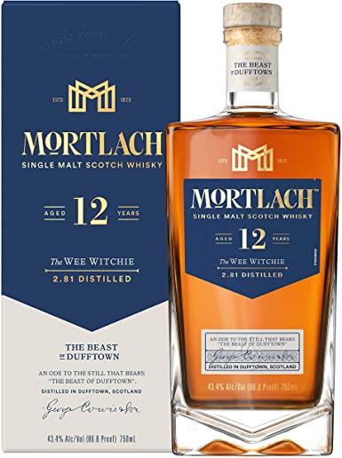 Mortlach Single Malt Scotch Whisky 12 year The Wee Witchie - Grapes & Hops Deli
