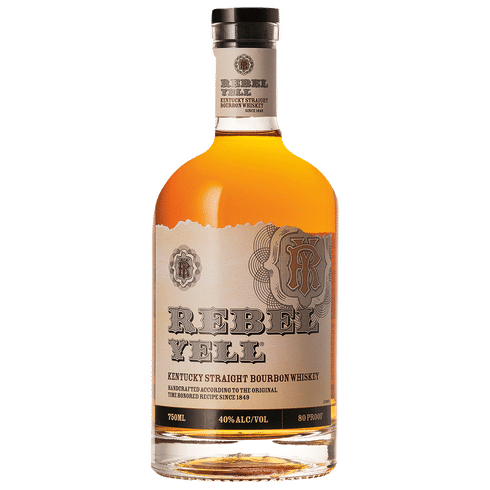 Rebel Yell Kentucky Straight Bourbon Whiskey 80 Proof - Grapes & Hops Deli
