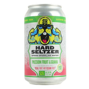 Belching Beaver Hard Seltzer Passionfruit and Guava