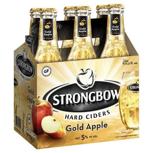 Strongbow Hard Ciders Golds Apple - Grapes & Hops Deli