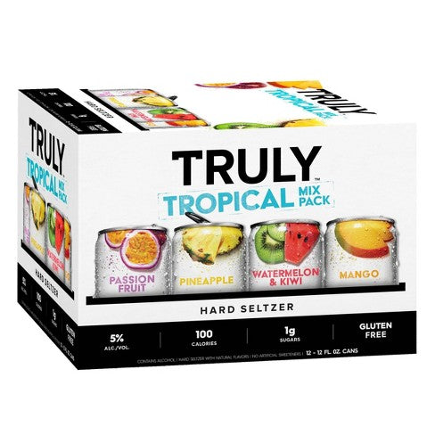 Truly Hard Seltzer Tropical Mix - Grapes & Hops Deli