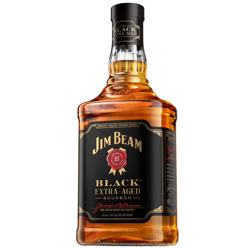 Jim Beam Black Extra Aged Bourbon - Grapes & Hops Deli