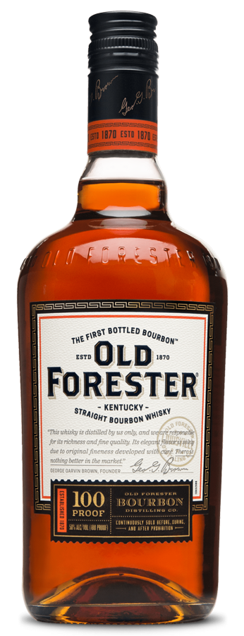 Old Forester Kentucky Straight Bourbon Whiskey 100 Proof