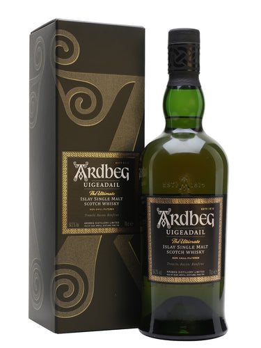 Ardbeg Uigeadail Signal Malt Scotch Whisky - Grapes & Hops Deli
