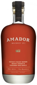 Amador Kentucky Straight Bourbon Whiskey Finished in Chardonnay Wine Barrels Aged 12 Years