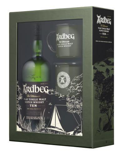 Ardbeg The Ultimate Islay Single Malt Scotch Whisky 10 Year Gift Set - Grapes & Hops Deli