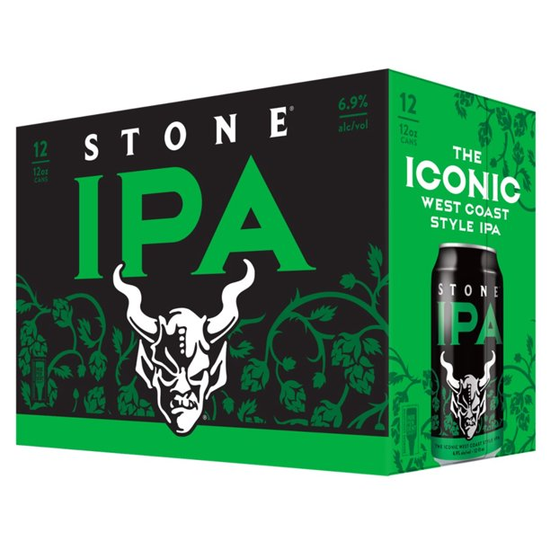 Stone Brewing The ICONIC West Coast Style IPA - Grapes & Hops Deli