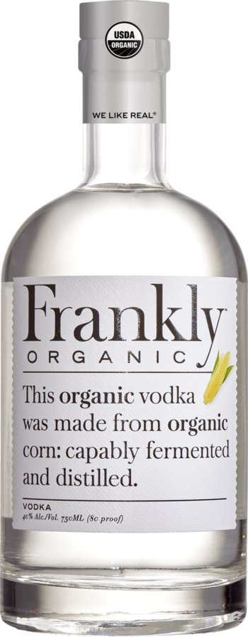 Frankly Organic Vodka - Grapes & Hops Deli