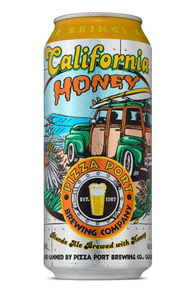 Pizza Port Brewing California Honey - Grapes & Hops Deli