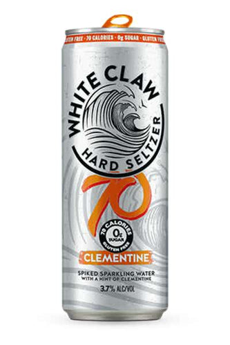 White Claw Hard Seltzer 70 Calories Clementine - Grapes & Hops Deli