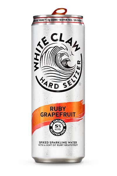White Claw Hard Seltzer Ruby Grapefruit - Grapes & Hops Deli