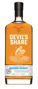 Cutwater Devil's Share Bourbon Whiskey 4 Years 92 Proof Batch No. 7