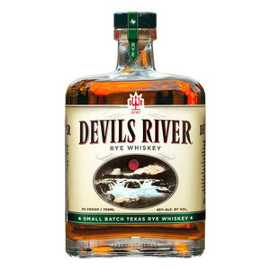 Devils River Small Batch Texas Rye Whiskey - Grapes & Hops Deli