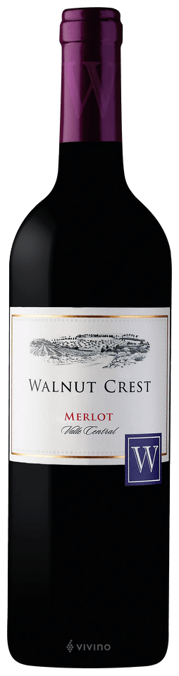 Walnut Crest 2018 Merlot Valle Central