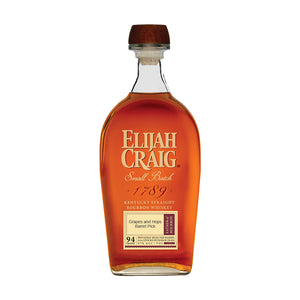 Elijah Craig Small Batch Kentucky Straight Bourbon Whiskey - Grapes and Hops Barrel Pick - Grapes & Hops Deli