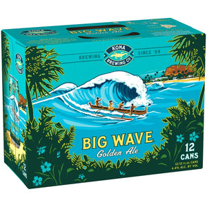 Kona Brewing Big Wave Golden Ale - Grapes & Hops Deli