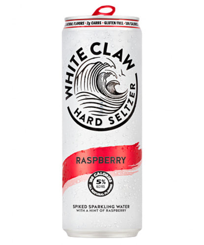 White Claw Hard Seltzer Raspberry - Grapes & Hops Deli